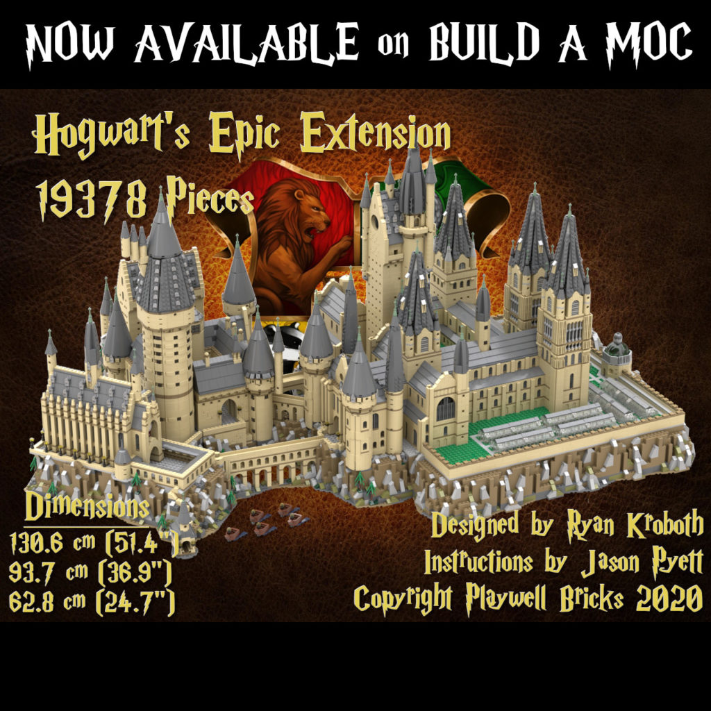 Hogwarts Extension MOC now available as a set!